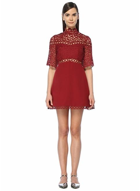 Keepsake Kokteyl Elbise Kırmızı